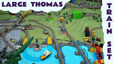 thomas the tank train table set trackmaster landscaped thomasthe train set kids toy thomas