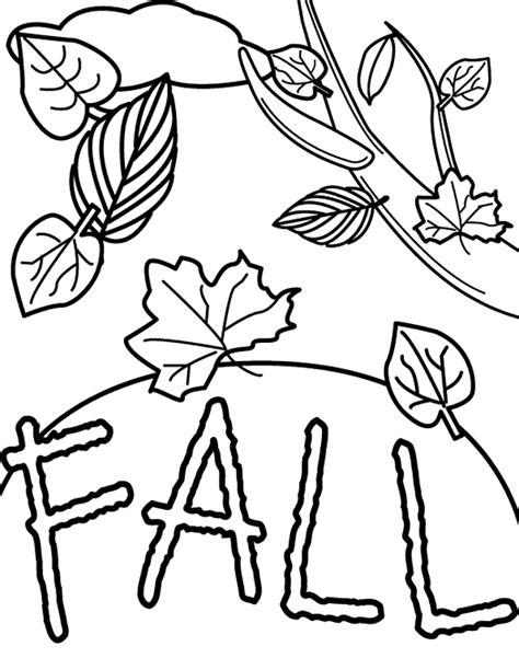 thanksgiving leaf coloring pages harvest time