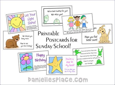 printable postcards for sunday school printable postcards for sunday school