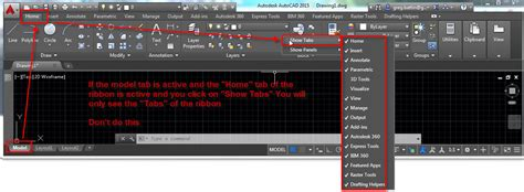 layout tabs autocad architecture solved layout tab missing autodesk community