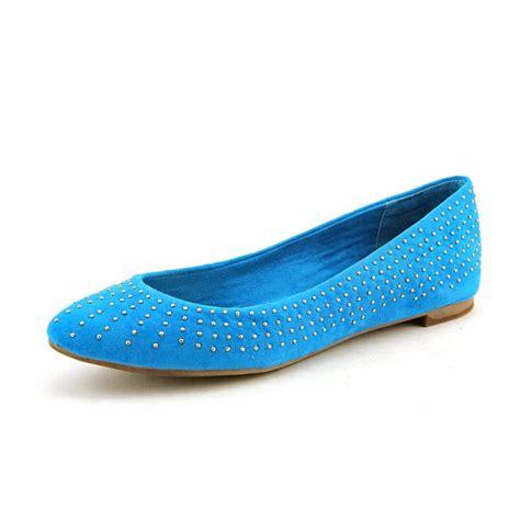 blue flats shoes splendid splendid india suede blue flats