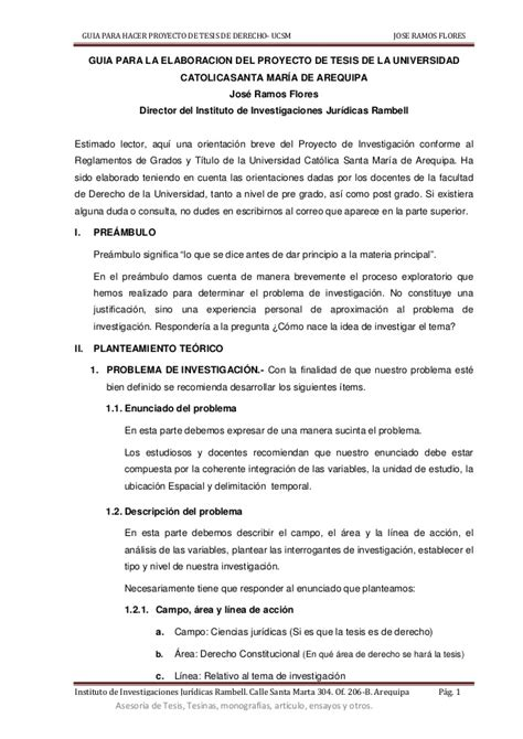 Modelo Curriculum Universidad Catolica Gu 205 A Para Elaborar Proyecto De Tesis De Derecho Universidad Catolica