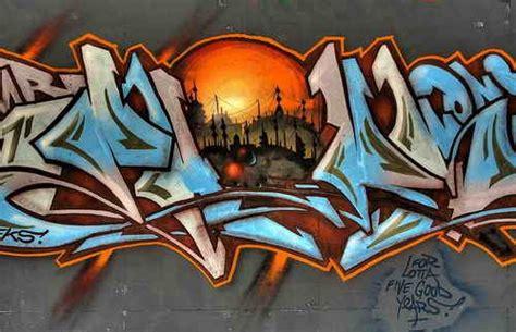 graffiti art alphabet letters famous landscape paintings