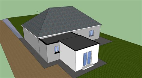 Hipped Roof Extension Designs Flat Roof Extenion On A Doubled Hipped Roof Diynot Forums