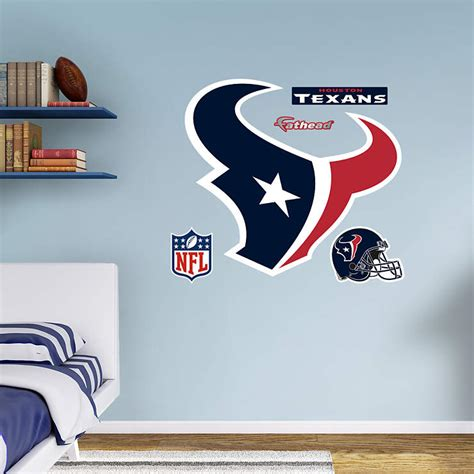 Texans Wall Decor by Houston Texans Logo