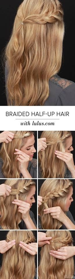 hairstyles every girl must know 43 easy half up hairstyle tutorials that every girl must try