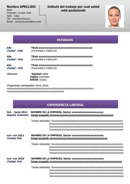 Modelo Curriculum Uruguay Modelo De Curriculum Vitae Uruguay Modelo De Curriculum Vitae