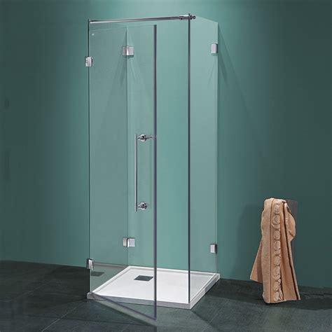 doccia tre lati box doccia a tre lati antin u da 70 cm in cristallo 8 mm
