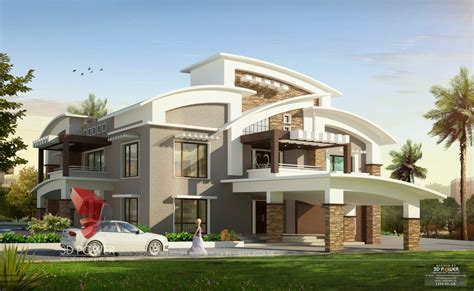 bungalow designs bungalows mumbai 3d power