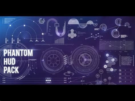 Phantom Hud Infographic After Effects Template Youtube Mission Impossible After Effects Template