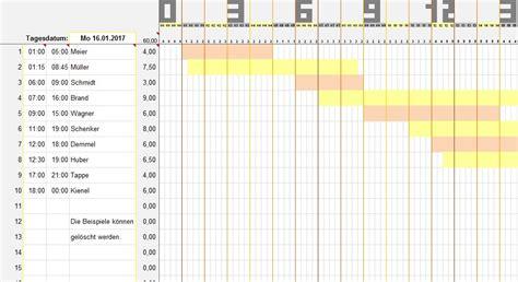 Kostenlose Vorlage Arbeitszeit Personalplaner Dienstpl 228 Ne 2017 Excel 2016 Personaleinteilung