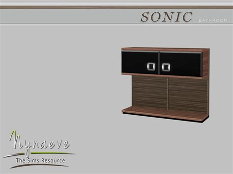 Sonic Bathroom Nynaevedesign S Sonic Bathroom Cabinet