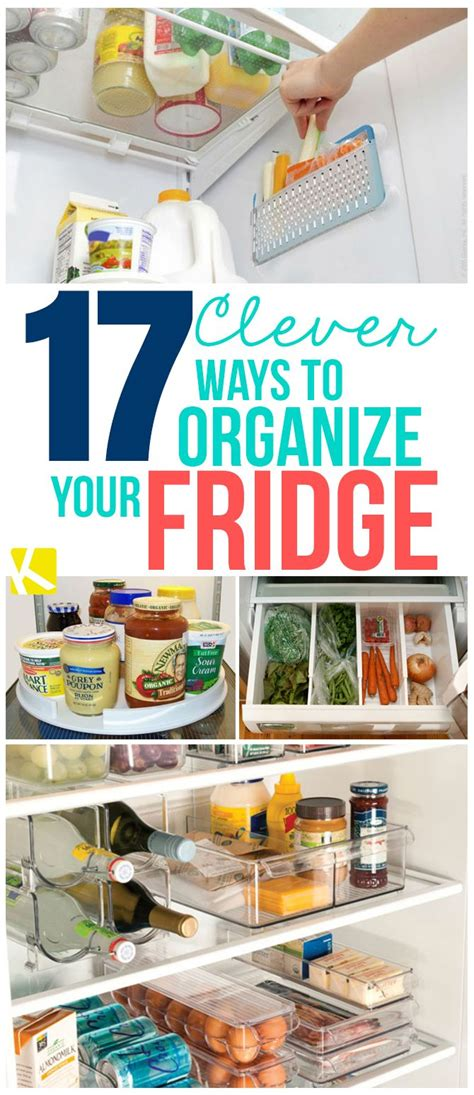 Ways To Organize Your Pantry by Best 25 Organize Fridge Ideas On How To