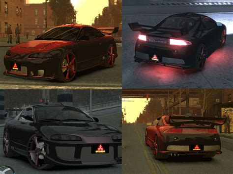 Autos Tuning Gta 4 by The Gta Place 1999 Mitsubishi Eclipse Tuning