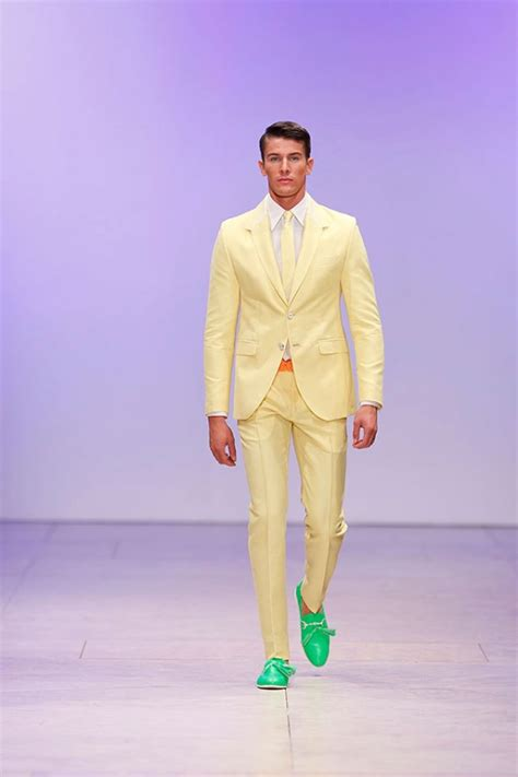 the best men s spring colored suits divine style men s suits in miguel vieira spring summer collection 2018