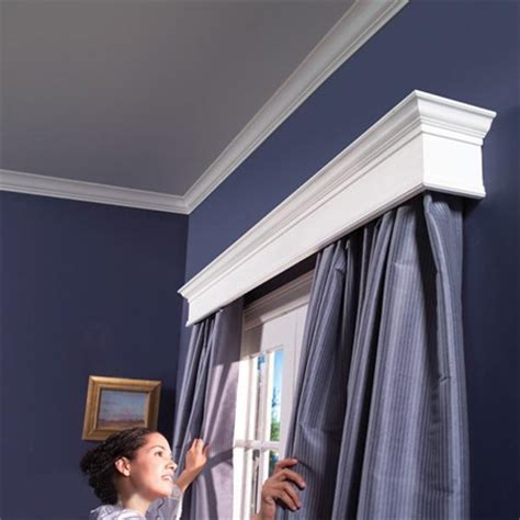 window curtain box design home dzine home decor how to build a box pelmet