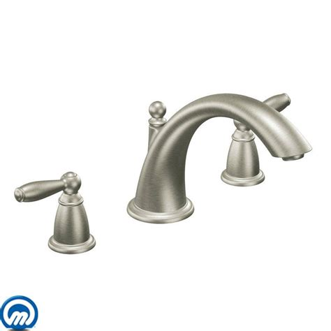 Moens Faucets by Faucet T933bn In Brushed Nickel By Moen