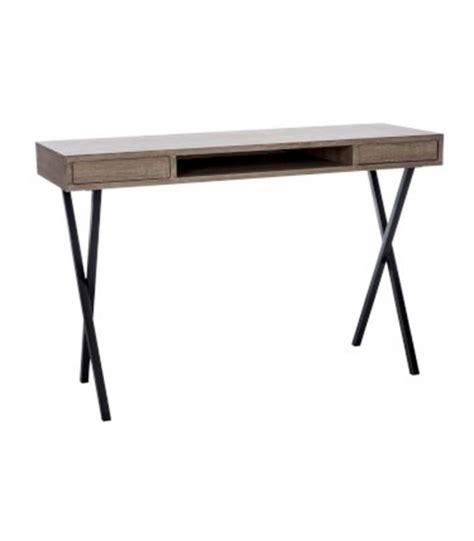 bureau metal noir bureau pour ordinateur en bois et m 233 tal noir wadiga com