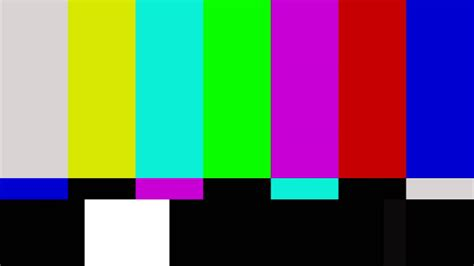 test pattern for led tv full hd 1080p color bar type smpte youtube