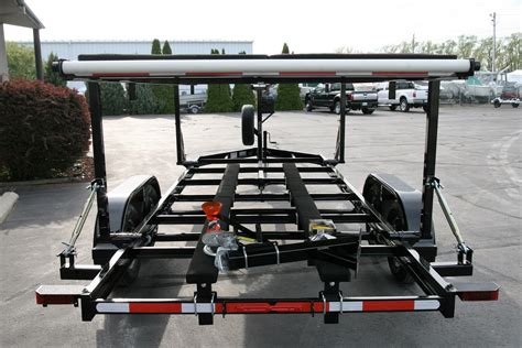 hydraulic boat t top airboat and hydraulic stack trailers