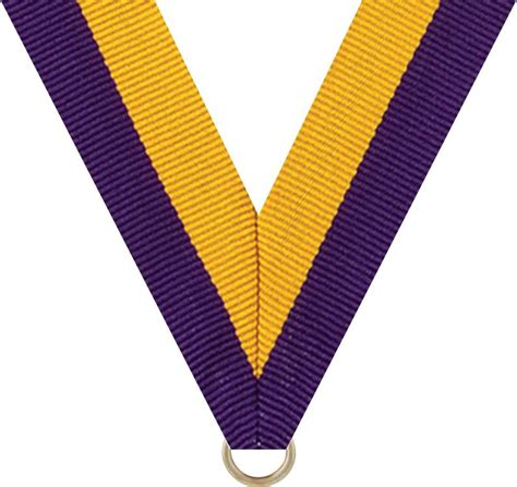 Tunix Ribbon Crem Ro 7 8 quot x 30 quot purple gold