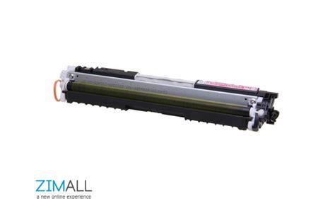 Toner Hp Laserjet 126a Original Ce312a hp 126a original laserjet toner cartridge zimall