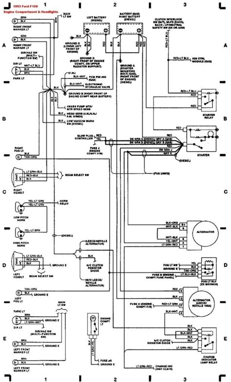 1993 ford f 150 wiring diagram 1993 ford f150 wiring