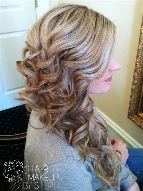 Side Swept Prom Hairstyles by Side Swept Curls Hair Styles Beautiful