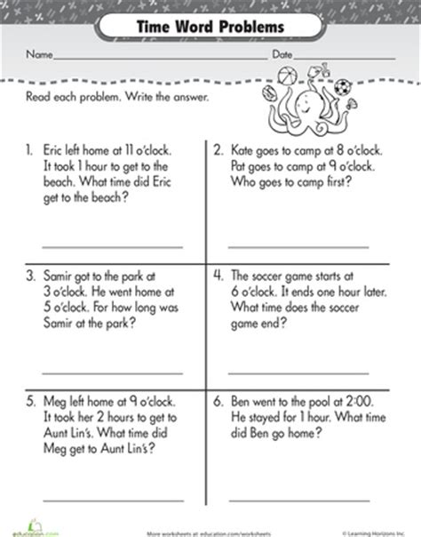 elapsed time word problems worksheets grade 2 results