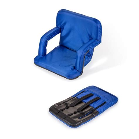 portable recliner trademark innovations portable multiuse adjustable blue