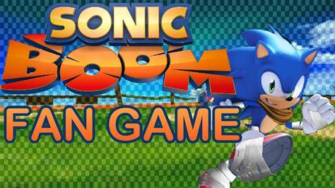 sonic fan games download sonic boom fan game download fangame showcase youtube
