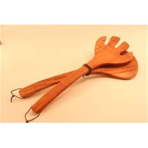Maxim Tools 12 Serving Tong wood tongs wooden flippers and grippers wood salad tongs