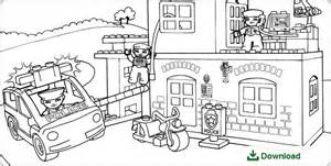 Lego City Da Policia Coloring Pages Sketch Page sketch template
