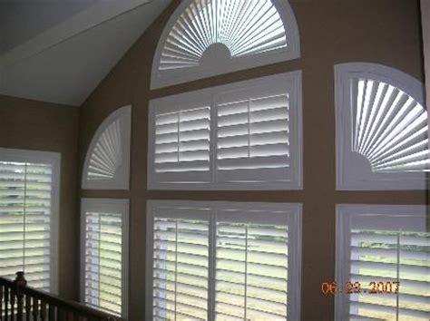 sunburst window covering specialty shaped shutters sunburst no window is