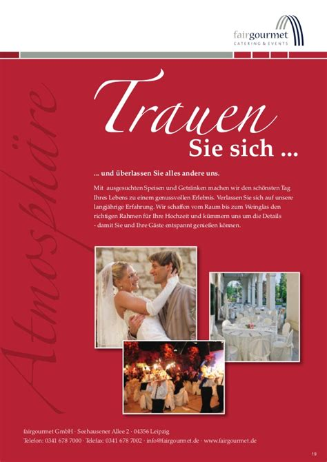 Heiraten Magazin by Magazin Heiraten In Leipzig 2014