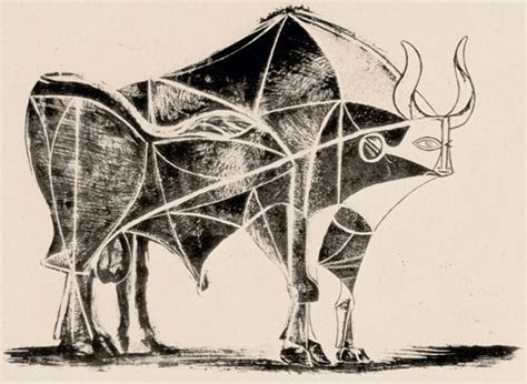 picasso paintings bull caged era