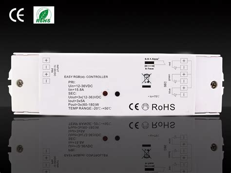len 34 volt 3 watt led rgb controller led aluminium en rvs profielen uw