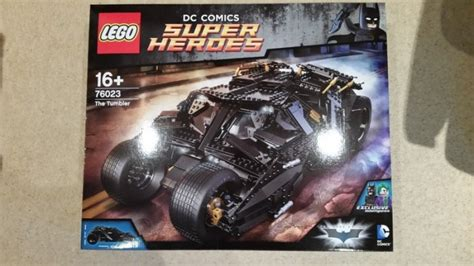 Sale Lego The Tumbler 76023 lego dc heroes 76023 the tumbler batman new for sale