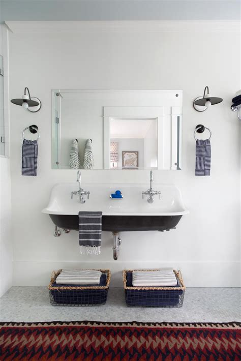 ideas for small bathrooms small bathroom ideas on a budget hgtv