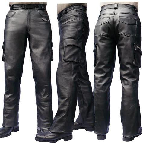 Men's Elite C Leather Jeans