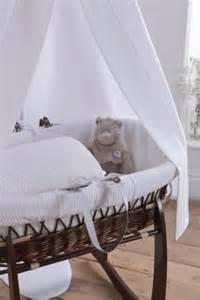 3 waffle moses basket and drape set