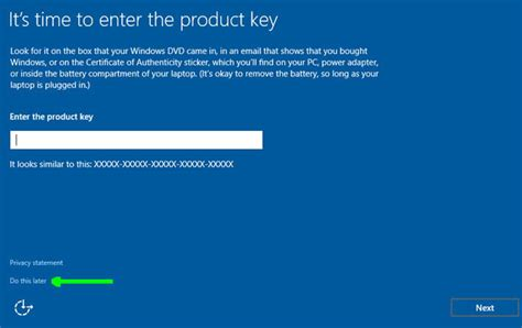 install windows 10 key how to set up a local account in windows 10 during or