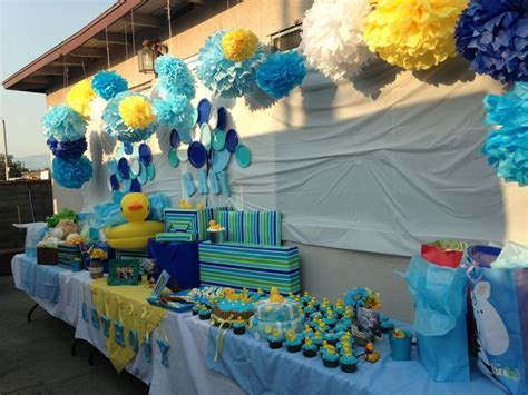 Rubber Ducky Baby Shower Ideas For A Boy by 25 Best Ideas About Baby Shower Duck On