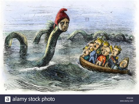 europe 1848 n the great sea serpent of 1848