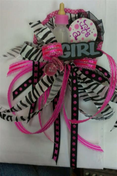 zebra themed baby shower decorations 17 best images about corsage on prom wrist