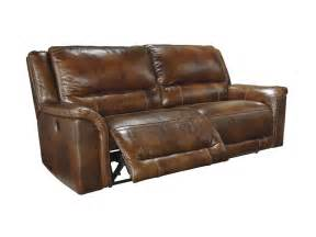 Ashley Recliner Sofa by Signature Design By Ashley Living Room 2 Seat Reclining