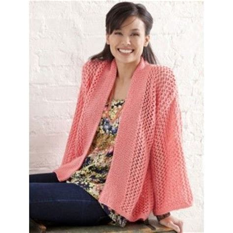 knitting pattern kimono cardigan bright and breezy kimono free knitting pattern lace