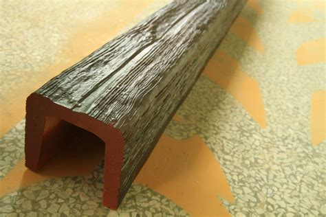 guangzhou polyurethane decorative wood beams u shape