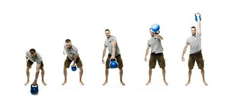 kettlebell power swing crossfit exercises