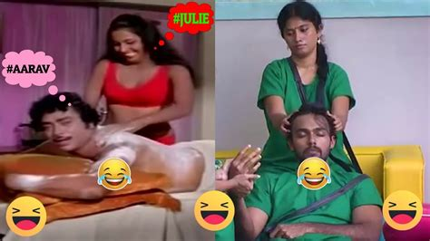 massage troll julie massage troll bigg boss episode 39 on day 38